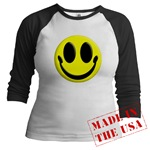 Smiley Face Jr. Raglan