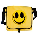 Smiley Face Messenger Bag