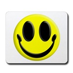 Smiley Face Mousepad