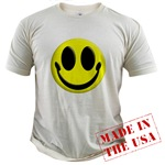 Smiley Face Organic Cotton Tee