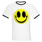 Smiley Face Ringer T