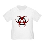 3D Biohazard Symbol Infant/Toddler T-Shirt