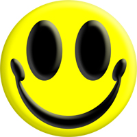 3D Warm Friendly Smiley Smile Face
