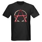 Alpha & Omega Anarchy Symbol Dark T-Shirt