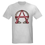 Alpha & Omega Anarchy Symbol Light T-Shirt