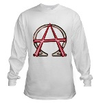 Alpha & Omega Anarchy Symbol Long Sleeve T-Shirt