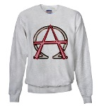 Alpha & Omega Anarchy Symbol Sweatshirt