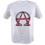 Alpha & Omega Anarchy Symbol Value T-shirt