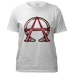 Alpha & Omega Anarchy Symbol Women's T-Shirt