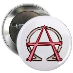 Alpha & Omega Anarchy Symbol Button