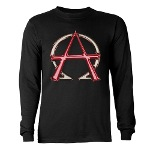 Alpha & Omega Anarchy Symbol Long Sleeve Dark