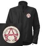 Alpha & Omega Anarchy Symbol Women's Jacket