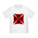 Ace Biker Iron Maltese Cross Infant/Toddler T-Shir