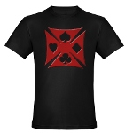 Ace Biker Iron Maltese Cross Organic Men's Fitted
