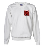 Ace Biker Iron Maltese Cross Sweatshirt