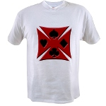 Ace Biker Iron Maltese Cross Value T-shirt