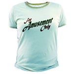 For Amusement Only Jr. Ringer T-Shirt