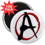 "Anarchy Now 2.25"" Magnet (100 pack)"