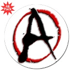 "Anarchy Now 3"" Lapel Sticker (48 pk)"
