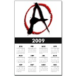 Anarchy Now Calendar Print