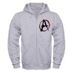 Anarchy Now Zip Hoodie