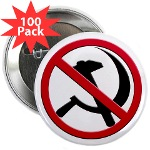 "Anti-Communism 2.25"" Button (100 pack)"
