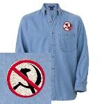 Anti-Communism Denim Shirt