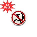 Anti-Communism Mini Button (10 pack)