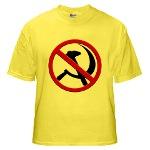 Anti-Communism Yellow T-Shirt