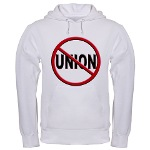 Anti-Union Hooded Sweatshirt