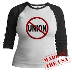 Anti-Union Jr. Raglan