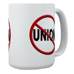 Anti-Union Large Mug