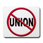 Anti-Union Mousepad