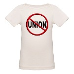 Anti-Union Organic Baby T-Shirt
