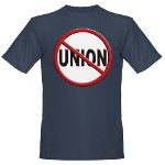 Anti-Union Organic Men's T-Shirt (dark)