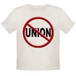 Anti-Union Organic Toddler T-Shirt