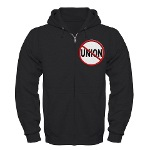 Anti-Union Zip Hoodie (dark)
