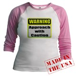 Approach With Caution Jr. Raglan