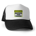 Approach With Caution Trucker Hat