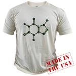 Caffeine Molecule Organic Cotton Tee