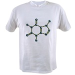 Caffeine Molecule Value T-shirt