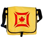 Canadian Biker Cross Messenger Bag