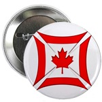 Canadian Biker Cross Button