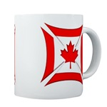 Canadian Biker Cross Coffee Cup