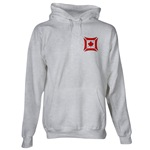 Canadian Biker Cross Hooded Sweatshirt