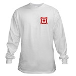 Canadian Biker Cross Long Sleeve T-Shirt