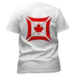 Canadian Biker Cross Women's T-Shirt