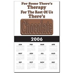 Chocolate Therapy Calendar Print