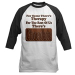 Chocolate Therapy Baseball Jersey