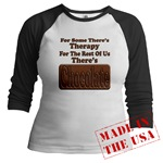 Chocolate Therapy Jr. Raglan